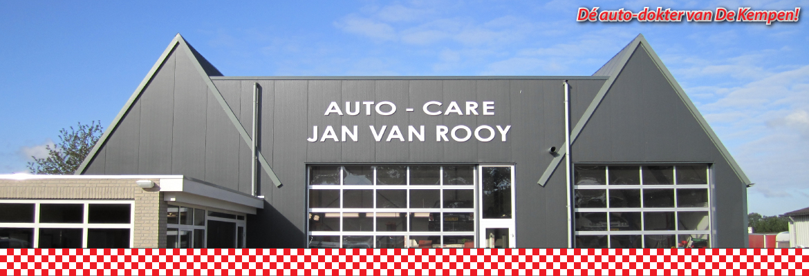 Autocare Jan van Rooy